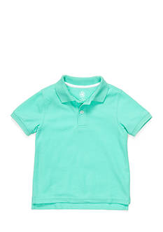 J Khaki™ Short Sleeve Solid Polo Boys 4-7