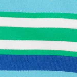 Youth Polo Shirts: Green/Blue J Khaki™ Short Sleeve Striped Polo Boys 4-7