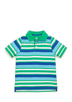 J Khaki™ Short Sleeve Striped Polo Boys 4-7
