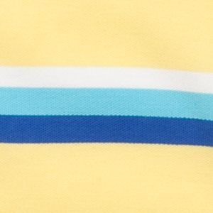 Youth Polo Shirts: Yellow/Blue J Khaki™ Short Sleeve Striped Polo Boys 4-7