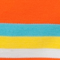 Youth Polo Shirts: Orange/Aqua J Khaki™ Short Sleeve Stripe Polo Boys 4-7