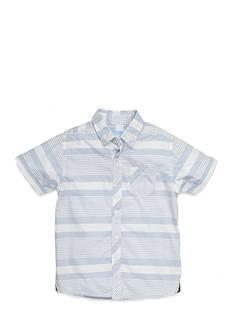 J Khaki™ Stripe Chambray Shirt Boys 4-7