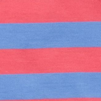 Baby & Kids: J Khaki™ Boys: Coral/Blue J Khaki™ Short Sleeve Stripe Jersey Polo Boys 4-7