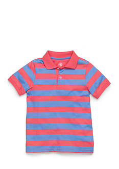 J Khaki™ Short Sleeve Stripe Jersey Polo Boys 4-7