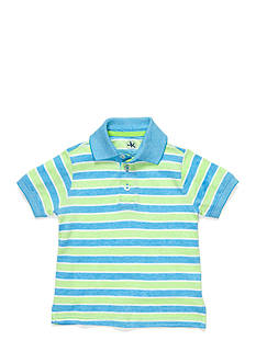 J Khaki™ Stripe Oxford Polo Shirt Boys 4-7