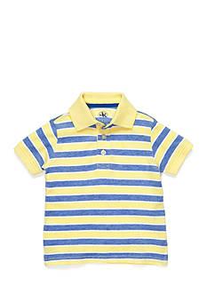 J Khaki™ Stripe Oxford Polo Shirt Boys 4-7