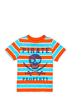 J Khaki™ Striped Skull-and-Crossbones Tee Boys 4-7