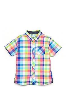 J Khaki™ Plaid Woven Shirt Boys 4-7