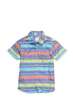 J Khaki™ Oxford Stripe Woven Shirt Boys 4-7