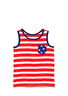 J Khaki™ Stripe Tank Top Boys 4-7