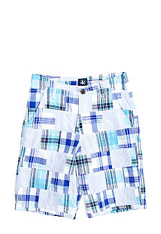 J Khaki Patchwork Short Boys 8-20