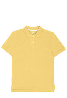 J Khaki Short Sleeve Solid YoYo Yellow Pique Polo  Boy 8-20