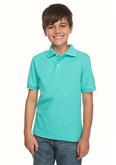 J Khaki™ Short Sleeve Solid Polo Boys 8-20