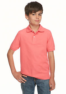 J Khaki™ Short Sleeve Solid Polo Boys 8-20