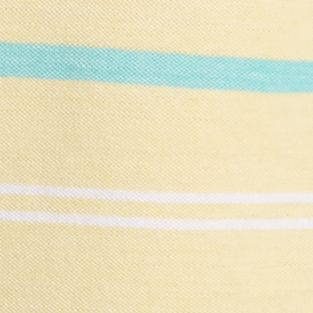 Boys Polo Shirts: Yellow/Turquoise J Khaki™ Short Sleeve Oxford Stripe Polo Boys 8-20