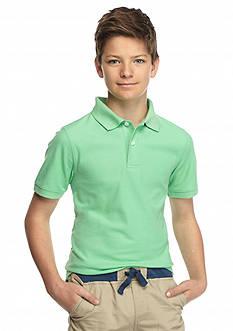 J Khaki™ Solid Polo Shirt Boys 8-20