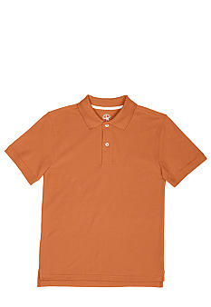 J Khaki Fashion Pique Polo Knit Boys 8-20