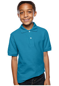 J Khaki Solid Polo Boys 8-20