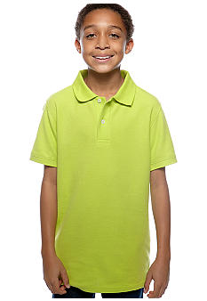 J Khaki™ Solid Fashion Polo Boys 8-20