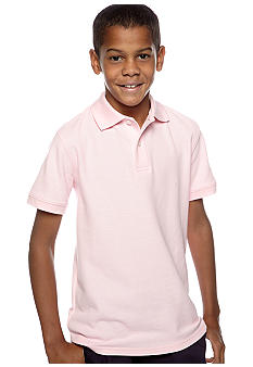 J Khaki Solid Fashion Polo Boys 8-20
