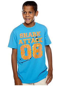 J Khaki Novelty Crew Tee Boys 8-20