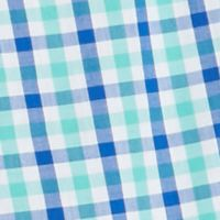 Boys 8-20 Clothing: White/Turquoise/Blue J Khaki™ Long Sleeve Woven Plaid Shirt Boys 8-20