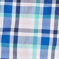 Boys Button Down Shirts: Blue/Pink/Turquoise J Khaki™ Long Sleeve Woven Plaid Shirt Boys 8-20