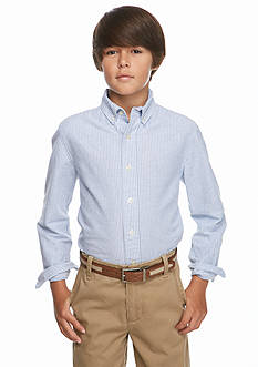 J Khaki™ Long Sleeve Striped Oxford Shirt Boys 8-20