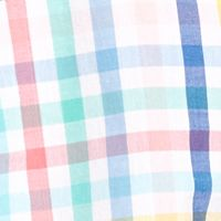 Boys Button Down Shirts: White Pink Blue J Khaki™ Long Sleeve Plaid Woven Shirt Boys 8-20