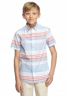 J Khaki™ Stripe Woven Oxford Shirt Boys 8-20