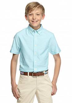 J Khaki™ Solid Woven Oxford Shirt Boys 8-20