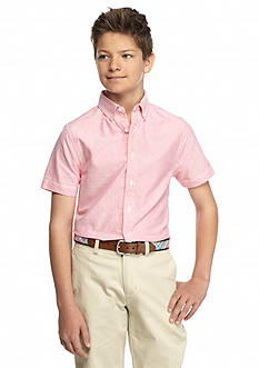 J Khaki™ Solid Woven Oxford Shirt Boys 8-20