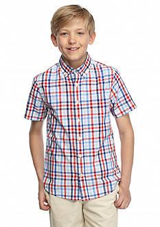 J Khaki™ Woven Check Shirt Boys 8-20