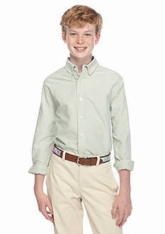 J Khaki™ Woven Solid Oxford Shirt Boys 8-20