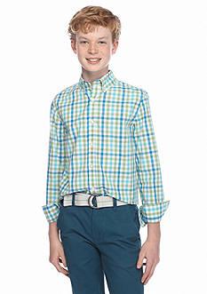 J Khaki™ Woven Plaid Shirt Boys 8-20