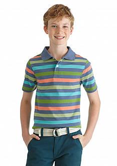 J Khaki™ Stripe Polo Boys 8-20