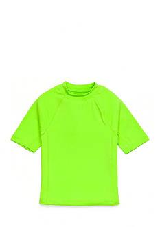 J Khaki™ Short Sleeve Novelty Rashguard Boys 4-7