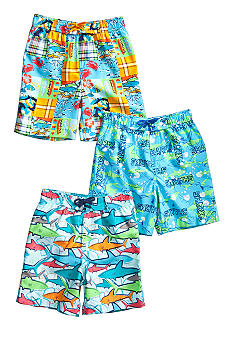 J Khaki™ Swim Trunk Boys 4-7