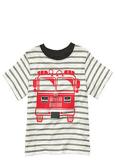 Carter's Carter's Striped Firetruck Tee Boys 4-7