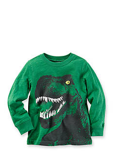 Carter's Boys 4-7 Long Sleeve Dino Tee