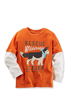 Carter's Boys 4-7 Long-Sleeve Layered-Look Graphic Tee