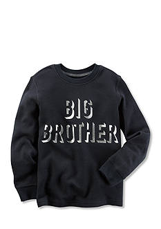 Carter's Boys 4-7 Long-Sleeve Foil-Printed Big Brother Graphic Tee
