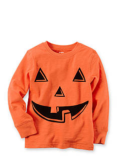 Carter's Boys 4-7 Long Sleeve Orange Pumpkin Tee