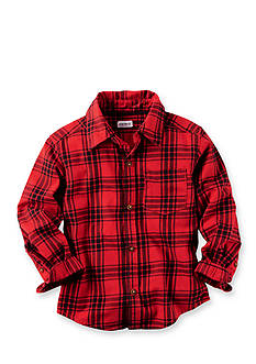 Carter's Flannel Plaid Button-Front Shirt Boys 4-7