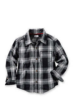 Carter's Flannel Button-Front Shirt Boys 4-7