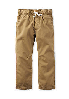 Carter's Khaki Pull-On Pants Boys 4-7