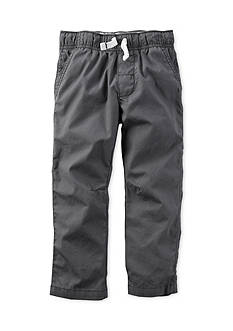 Carter's Gray Pull-On Pants Boys 4-7