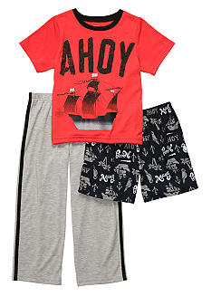 Carter's Ahoy 3 Piece Pajama Set Boys 4-7