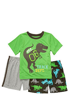 Carter's Dino Three Piece Pajama Set Boys 8-12