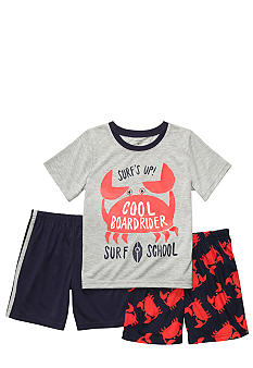 Carter's Crab Three Piece Pajama Set Boys 8-12